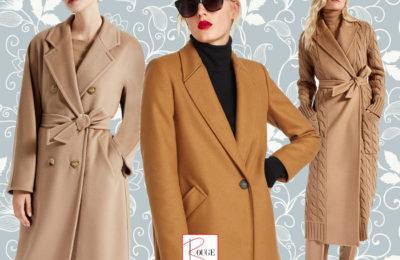 Il cappotto cinnamon: glamour ed eleganza
